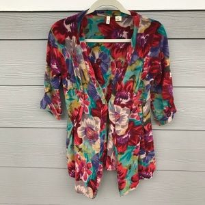 Moth from Anthropologie Floral cardi